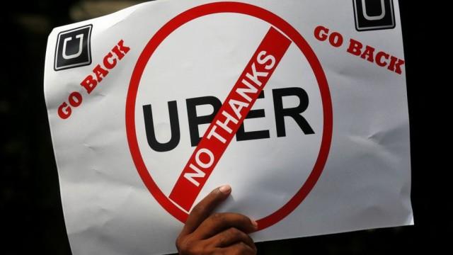 Как ограничивают и запрещают Uber