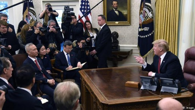 США и Китай утверждают о значительном прогрессе в торговых переговорах