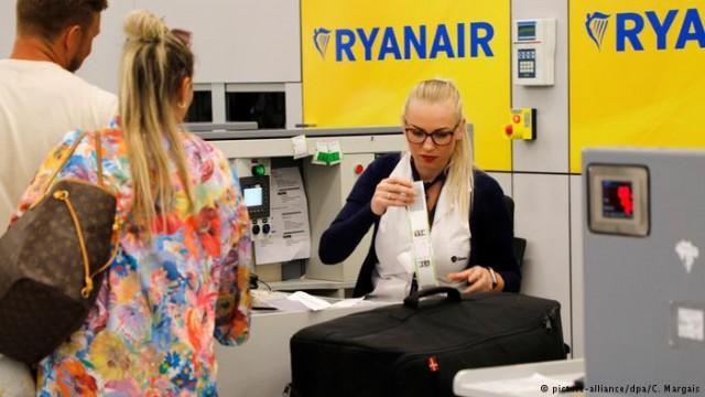 Ryanair и Wizz Air оштрафовали в Италии за ограничение багажа
