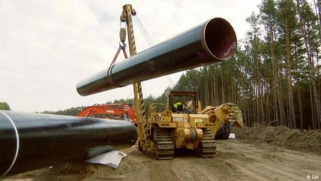 """""""Северный поток-2"""": как в Германии строят сухопутное продолжение (видео)"""
