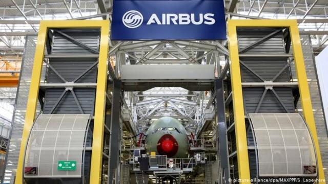 США угрожают ЕС введением штрафных пошлин через субсидирование Airbus