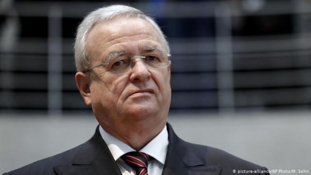 """В Германии экс-шефу Volkswagen предъявили обвинение за """"дизельный скандал"""""""
