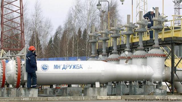 Проблемы из-за грязной российскую нефть