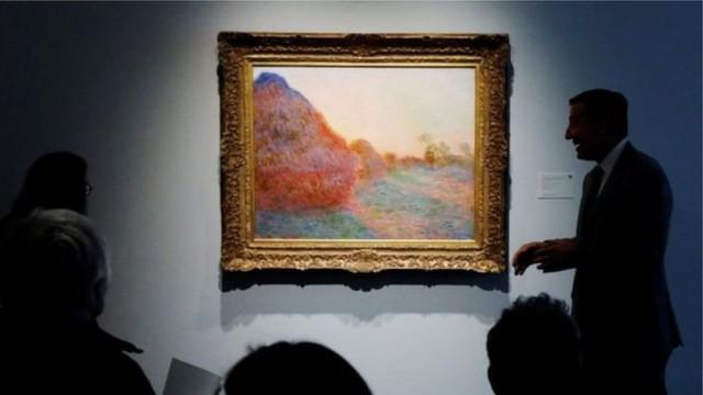 "Картину Моне ""Стога сена"" продали за рекордную цену"