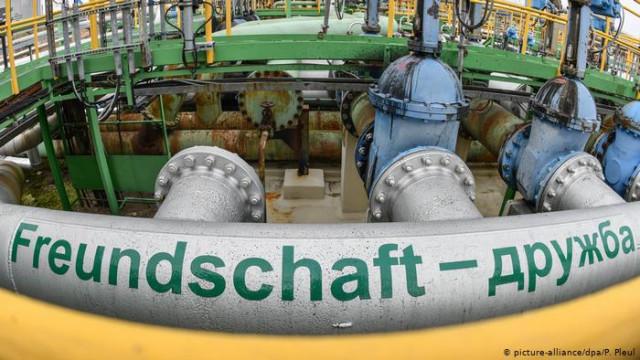 """""""Укртранснафта"""" возобновила транзит нефти в ЕС"""