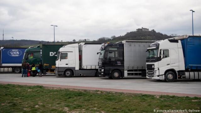 В Германии не хватает водителей грузовиков