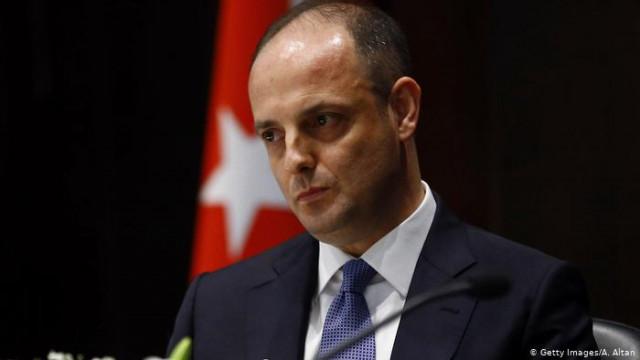 Эрдоган уволил главу Центрального банка Турции