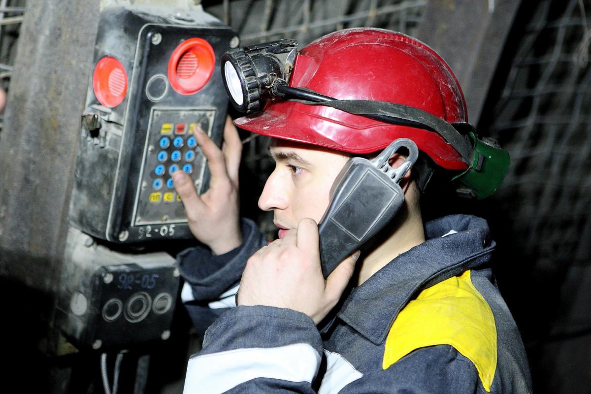 Системы связи на шахте от компании