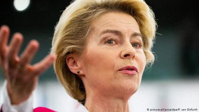 """Председатель Еврокомиссии раскритиковала санкции США против """"Северного потока-2"""""""