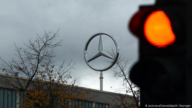 """Инвесторы судятся с Daimler на 896000000 евро за """"дизельный скандал"""""""