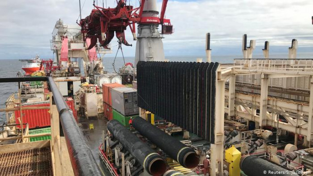 """В Германии изучают запрос по выводу """"Северного потока-2"""" из-под Газовой директивы ЕС"""