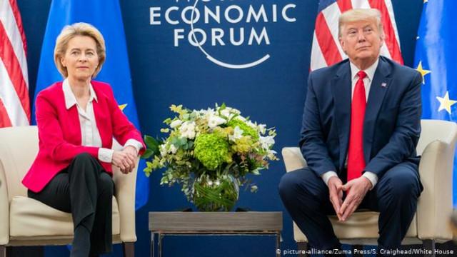 """Трамп угрожает ЕС: Без торговой сделки будут """"очень высокие"""" пошлины"""