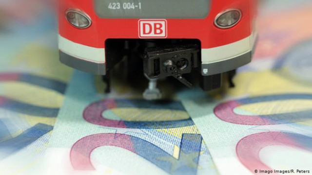 Deutsche Bahn за границей проекты и с коррупцией (видео)