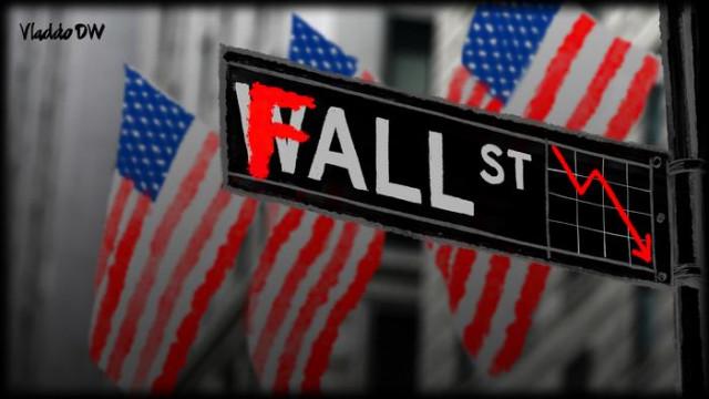 Фондовый рынок США обвалился рекордно за последние более 30 лет