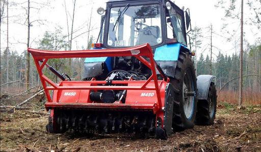 Принцип работы мульчера для трактора