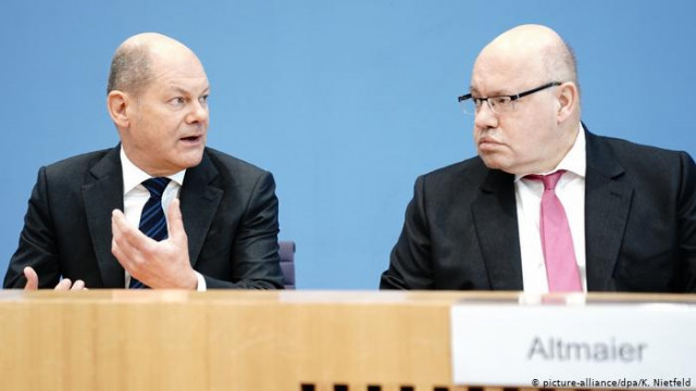 Правительство Германии подготовило пакет антикризисных законопроектив