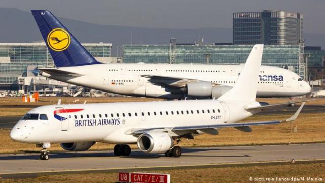 British Airways и Lufthansa через коронавирус решают по тысячам своих сотрудников
