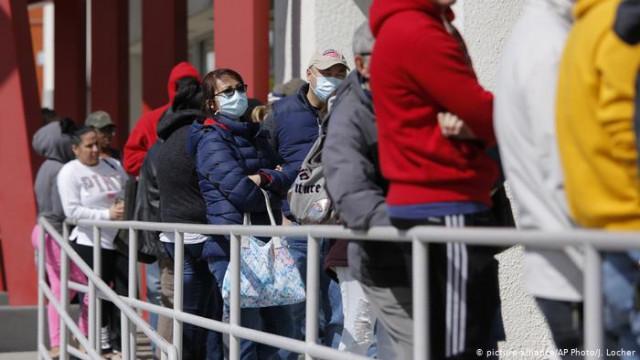 Коронавирус в США: во второй половине марта работу потеряли 10000000