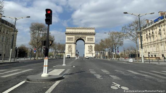 Во Франции из-коронавирус ожидают наибольшей рецессии с 1945 года