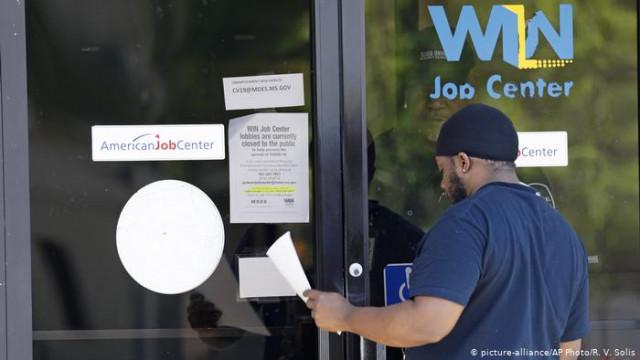 В США зарегистрировано еще 66 миллиона новых безработных