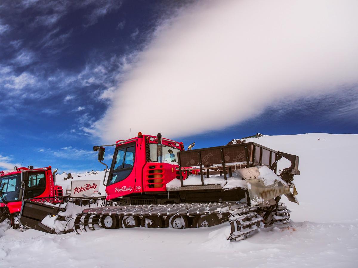 Снегоуплотнительная техника из Германии