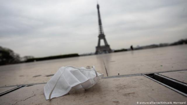 ВВП Франции рекордно упал на фоне пандемии COVID-19