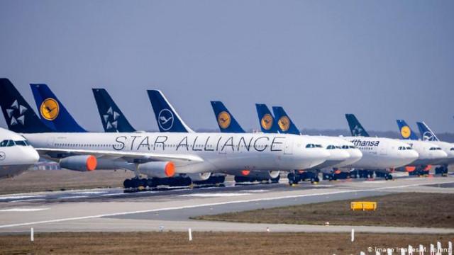 Lufthansa планирует возобновить полеты в Киев в июне
