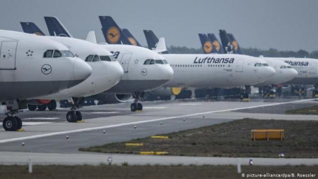 Правительство Германии и Lufthansa согласовали условия спасения авиакомпании