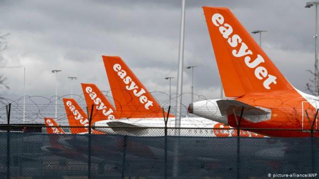 Британская авиакомпания Easyjet сократит почти треть персонала