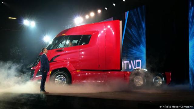 Водородная грузовик Nikola: стартап хочет повторить успех компании Tesla