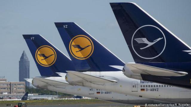 Еврокомиссия одобрила пакет помощи правительства ФРГ для Lufthansa