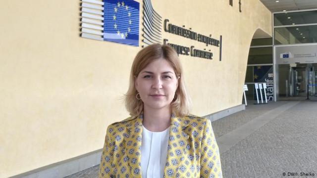 """Стефанишина ожидает результатов по """"промышленного безвизовых"""" с ЕС до октября"""