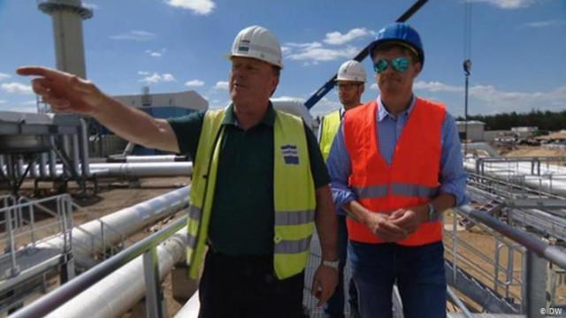 """Как строят наземное продолжение """"Северного потока-2"""" (видео)"""