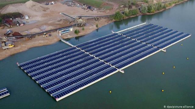 Плавучие солнечные электростанции: новый бизнес в затопленных карьерах