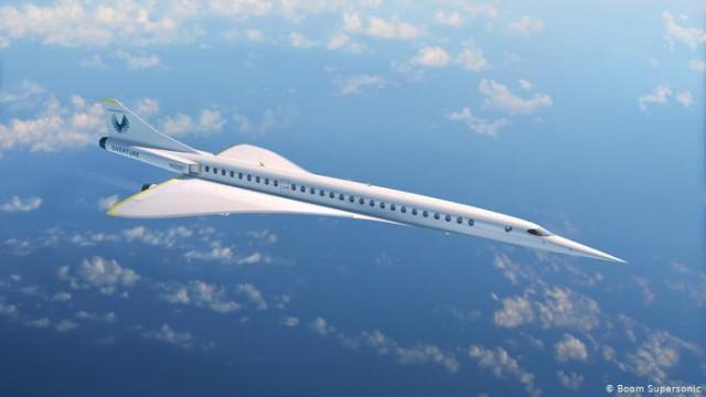 Сверхзвуковой пассажирский самолет Overture: за дело взялся частный бизнес