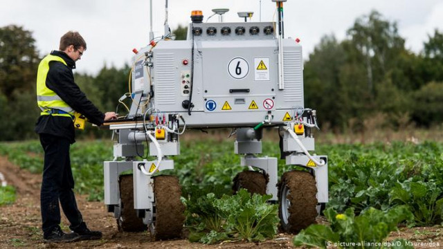 К 2025 году люди и роботы будут работать поровну - прогноз