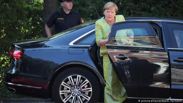 На каких автомобилях ездят немецкие политики