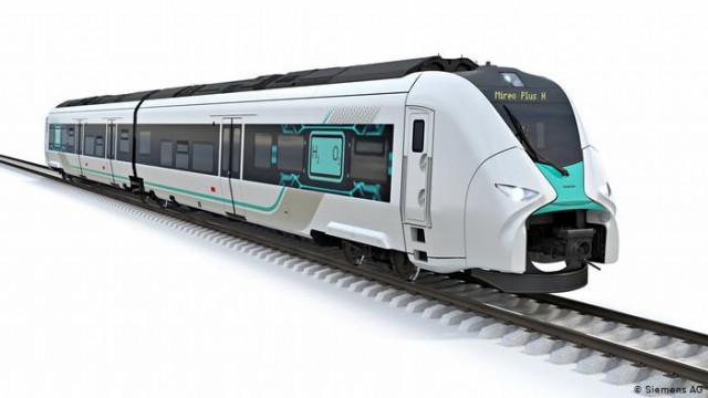 Водородный поезд Siemens и Deutsche Bahn: ставка на электролиз и зеленый H2