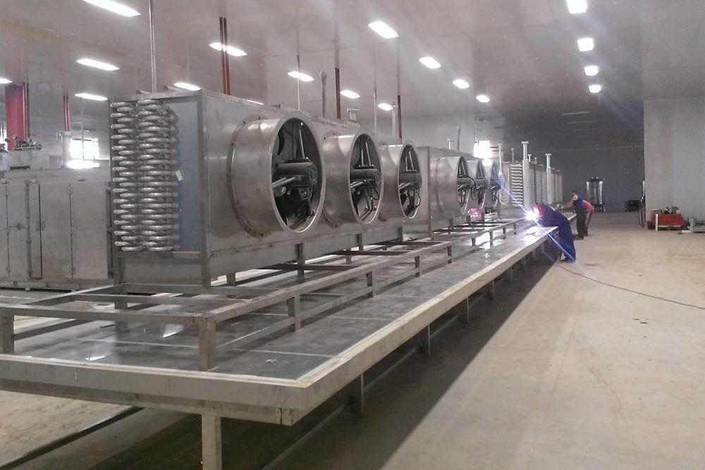 Отечественные промышленные холодильные установки
